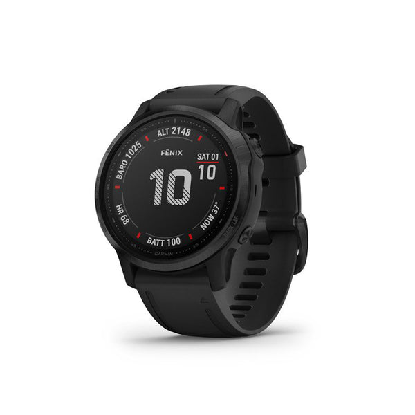 GARMIN Fenix 6S Pro Black With Black  Band