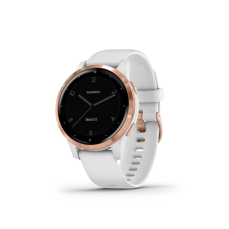 GARMIN VivoActive 4S, White/Rose Gold