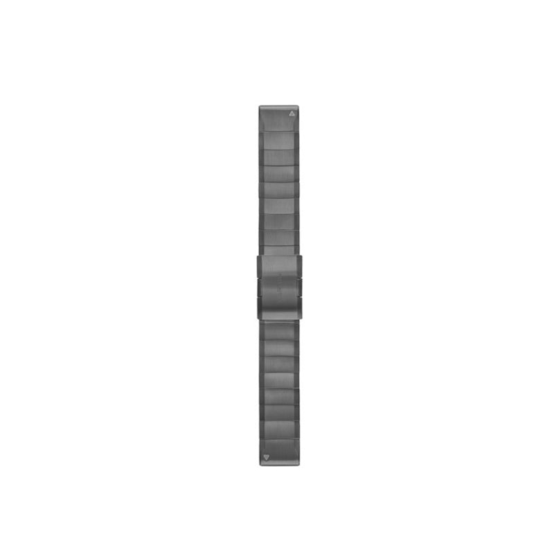 GARMIN QuickFit Watch Band Slate Gray Stainless Steel 22MM