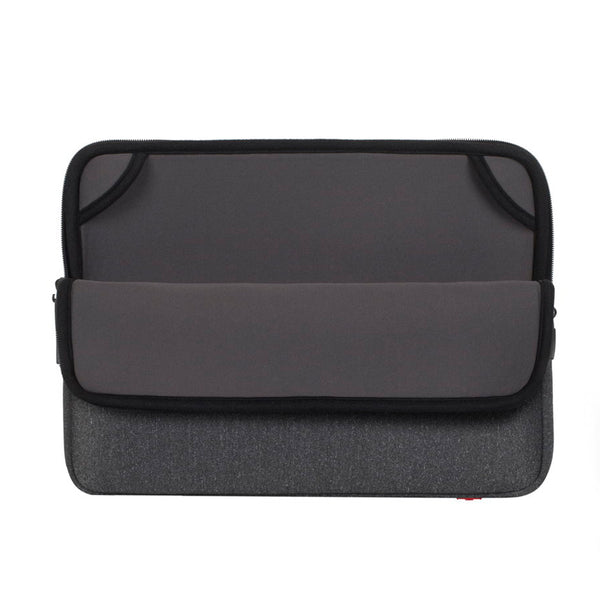 RivaCase 5133 Dark Grey Laptop Sleeve 15.4""