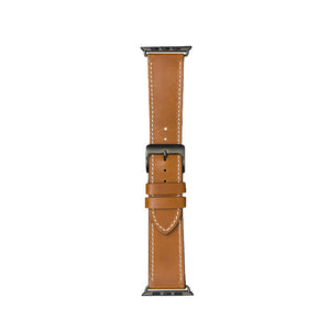 dbramante1928 Copenhagen -Watch Strap 40mm -Tan/Space Grey- Full Grain Leather.