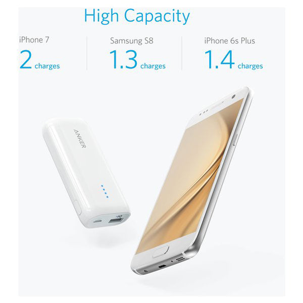 Anker Powercore 5200mAh White Powerbank