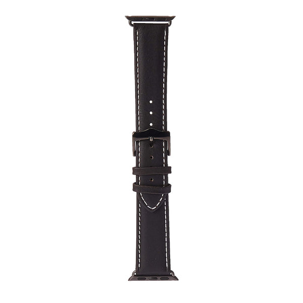 dbramante1928 Copenhagen - Watch Strap 38/40mm - Hunter/Space Gray - Full Grain Leather