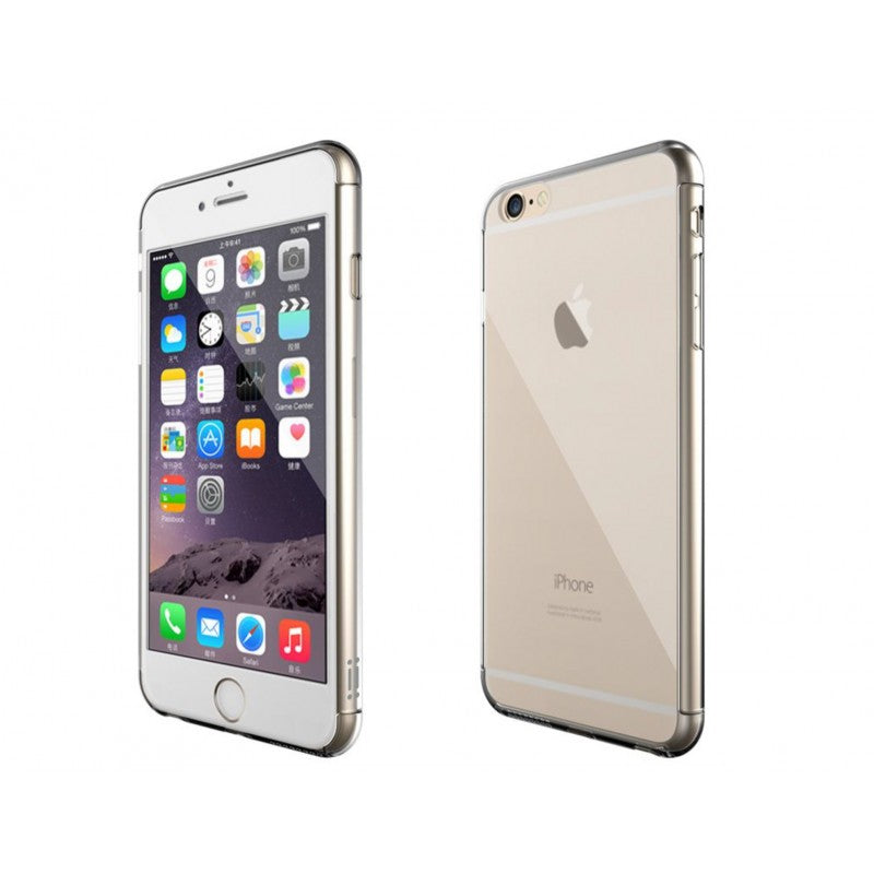 Aiino Crystal Case for iPhone 7 and iPhone 8 Clear,AIIPH7CV-FBCL,Crystal cases,Front & Back protective case Tempered glass screen protector