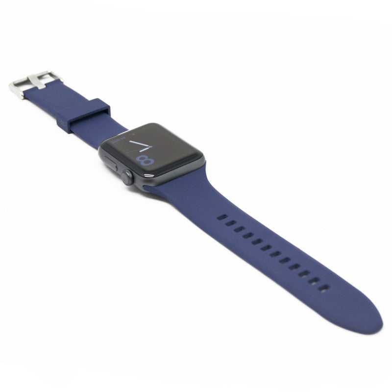 Aiino - Silicone watchband for Apple Watch 42 mm - Blue, AIWWRSTWTCH42-BL,Silicone watchband for Apple Watch 42 mm,Apple Watch Band 42 mm