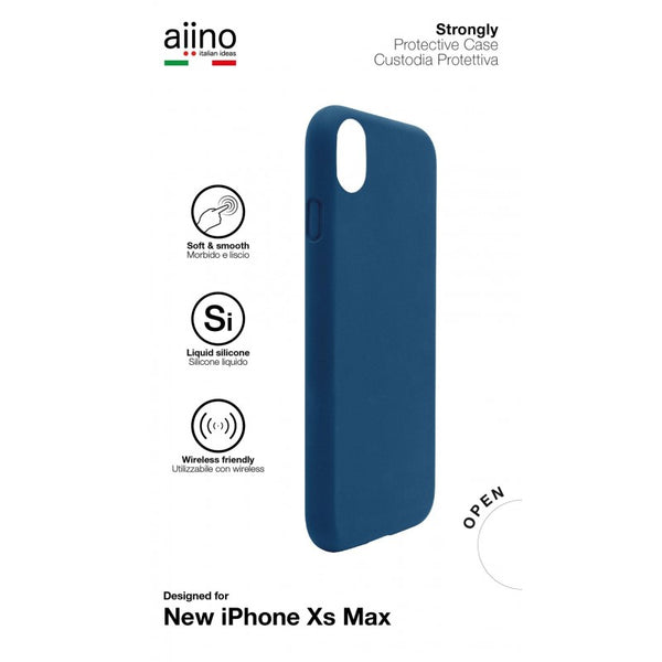 Aiino -Cover Strongly For The iPhone XS Max 2018 Premium -Dark Blue