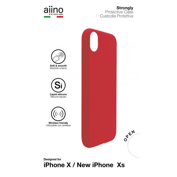 Aiino -Cover Strongly For The iPhone X/XS 2018 Premium -Red