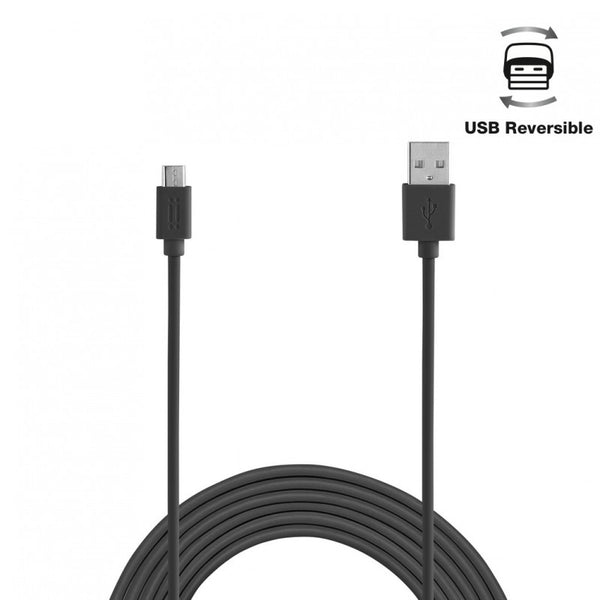 Aiino,Micro USB,USB,Reversible,Cable,Black
