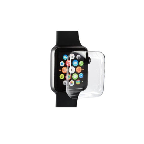 Aiino,Apple Watch,Full Case,38mm,Clear,Clear Case,AIWAP38CV-CL,Watch Accessories