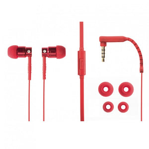 Aiino,Aluminum,Jazz,In-Ear,Earphones,Red,AIHIEALJAZZ-RD,Headphone and Speakers