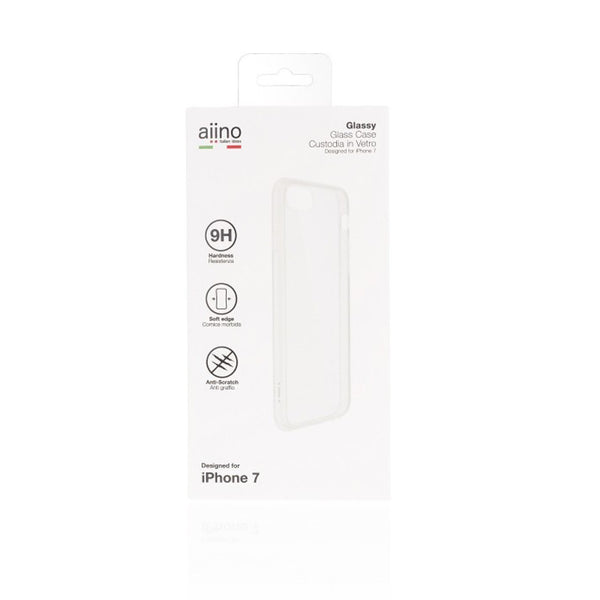 Aiino -Glassy Case For iPhone 7 and iPhone 8 Premium -Clear