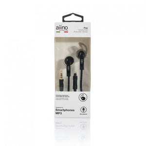 POP Earphones with adapters,Black,POP earphones