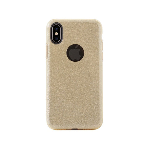 Glitter case,Gold,Glitter Case for iPhone X