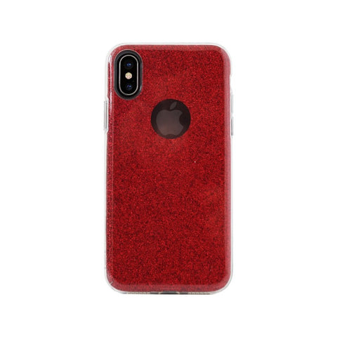 Aiino,Glitter case,Red,Glitter Case for iPhone X