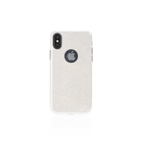 Aiino Glitter case,Silver,Glitter Case for iPhone X