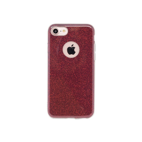 Aiino Glitter case,Red,Glitter cases