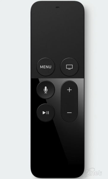 New Apple TV Remote Black