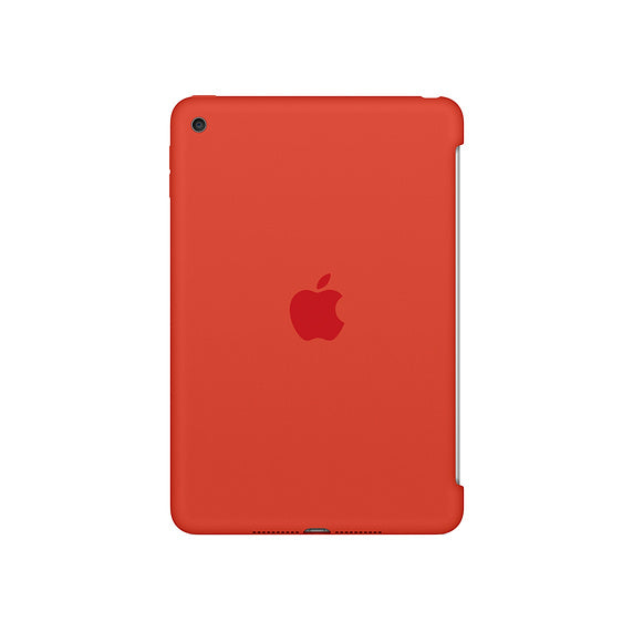 iPad Mini 4 Silicon Case Orange