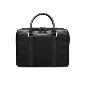 "dbramante1928 Stelvio 14"" Slim Laptop Bag Black - Full Grain Leather"