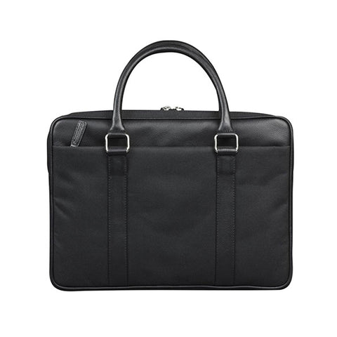 "dbramante1928 Stelvio 14"" Slim Laptop Bag PRO Black - Full Grain Leather"