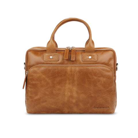 "dbramante1928 Kronborg 14"" Tan Full-Grain Leather Bag"