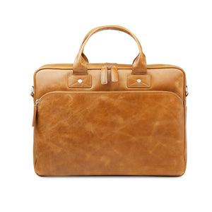 "dbramante1928 Kronborg 16"" Tan Full-Grain Leather Bag"