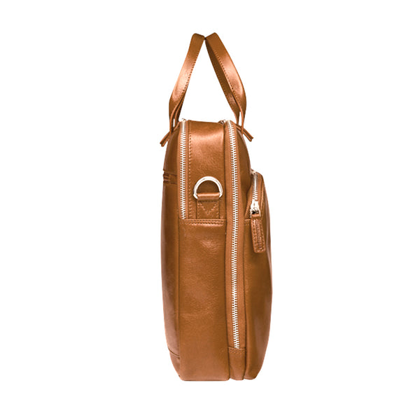 "dbramante1928 Kronborg 16"" Tan - Full Grain Leather Bag"