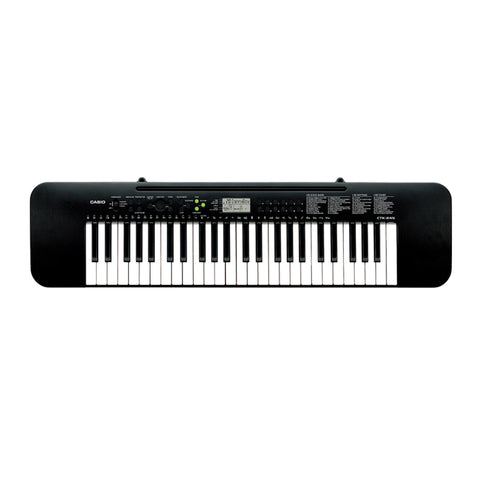 CTK-245,Casio,Standard Keyboards,Electronic Musical Instruments,Melody On/Off lesson function,Easy to read,LCD Function