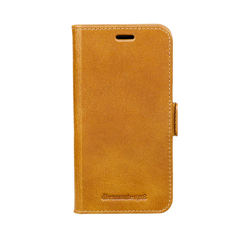dbramante1928 Copenhagen iPhone Cover X/Xs Tan - Full Grain Leather