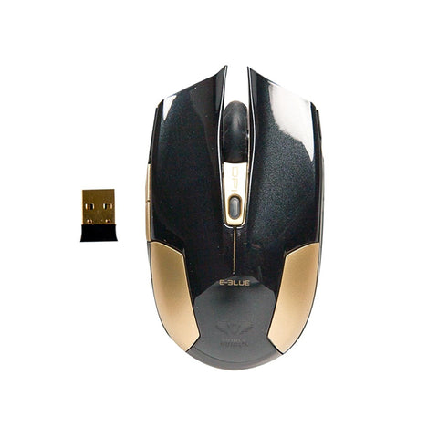E-Blue,Cobra,Type-S,Rechargeable 2.4GHz,Wireless LED,Compact,Gaming,Mouse,Black EMS608BKAA-IF,Computers accessories