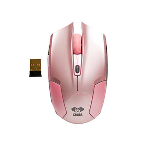E-Blue,Cobra,Type-S,Rechargeable,2.4GHz Wireless,LED,Compact,Gaming Mouse,Pink,EMS608PKAA-IF,Computers accessories