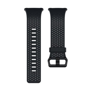 Fitbit Ionic,Accessory Band,Perforated,Leather,Midnight Blue,Small