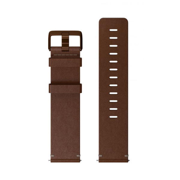 Fitbit Versa Accessory Band Leather Cognac Large