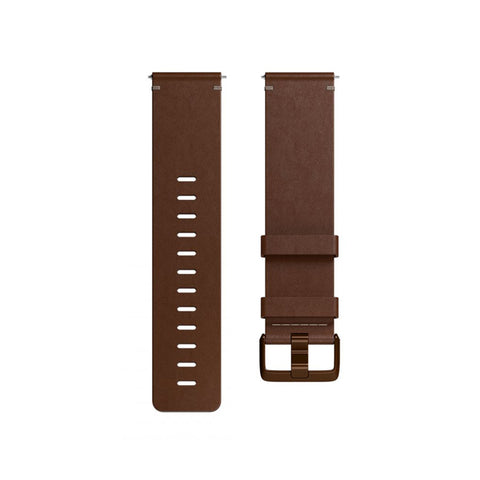 Fitbit,Versa Accessory Band,Leather,Cognac,Small,FB166LBDBS,Watch Accessories