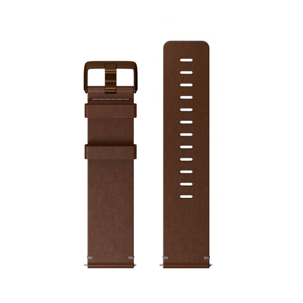 Fitbit Versa Accessory Band Leather Cognac Small