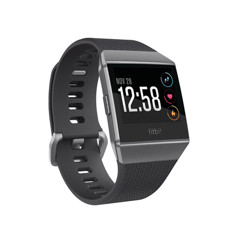 Fitbit,Ionic,Smartwatch,Charcoal/Smoke Gray,Fitness Wearables,FB503GYBK-EU