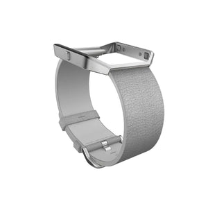 Fitbit Blaze, Accessory Band Leather Mist Grey Small FB159LBMGS