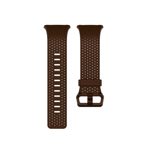 Fitbit Ionic Accessory Band Perforated Leather -Cognac -Small
