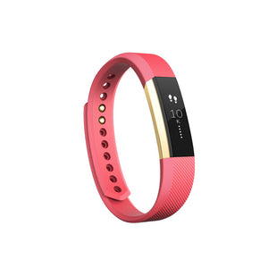 Fitbit Alta Fitness Wristband -Gold and Pink -Large EMEA
