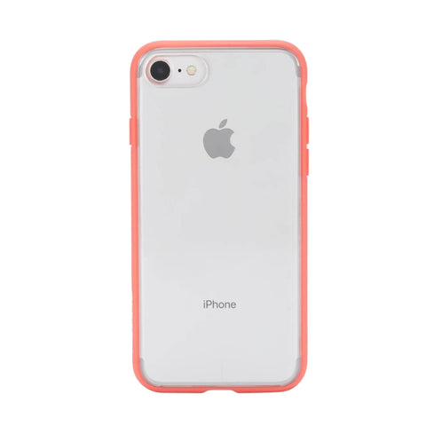 Incase Pop Case (Clear) iPhone 8 & iPhone 7 -Coral/Clear
