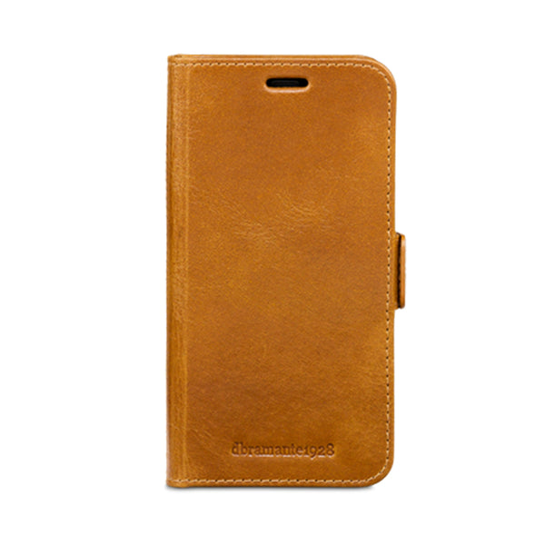 dbramante1928 Lynge iPhone Cover X/Xs Tan - Full Grain Leather