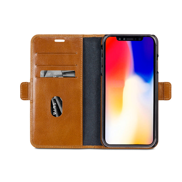 dbramante1928 Lynge iPhone Cover Xs Max Tan - Full Grain Leather