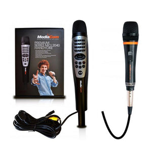 MediaCom MCI 2040 Premium Handheld Karaoke Player with MCI 380J