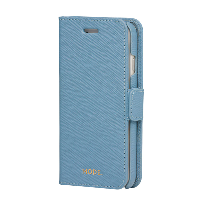 dbramante1928 New York iPhone 8/7/6 Series -Nightfall Blue AW19 - Full Grain Saffiano Leather