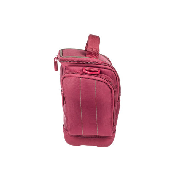 RivaCase 7202 SLR Holster Case With Side Pockets Red