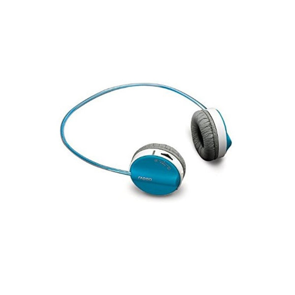 Rapoo,H3050,Wireless,Stereo,Headset,Blue