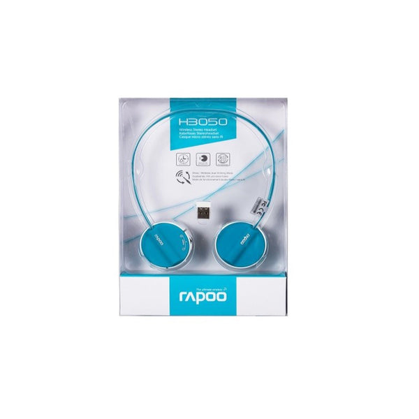 Rapoo H3050 Wireless Stereo Headset Blue