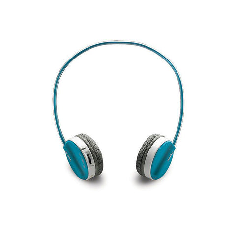 Rapoo,H3070,Wireless,Stereo,Headset,Blue Headset