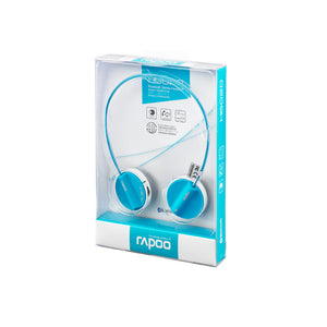 Rapoo,H6020,Bluetooth,Stereo,Headset,Blue