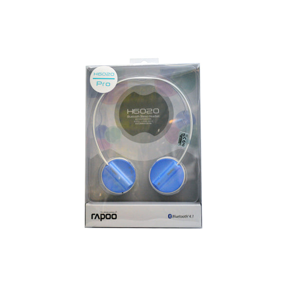 Rapoo H6020PROBL Bluetooth Stereo Headset Blue